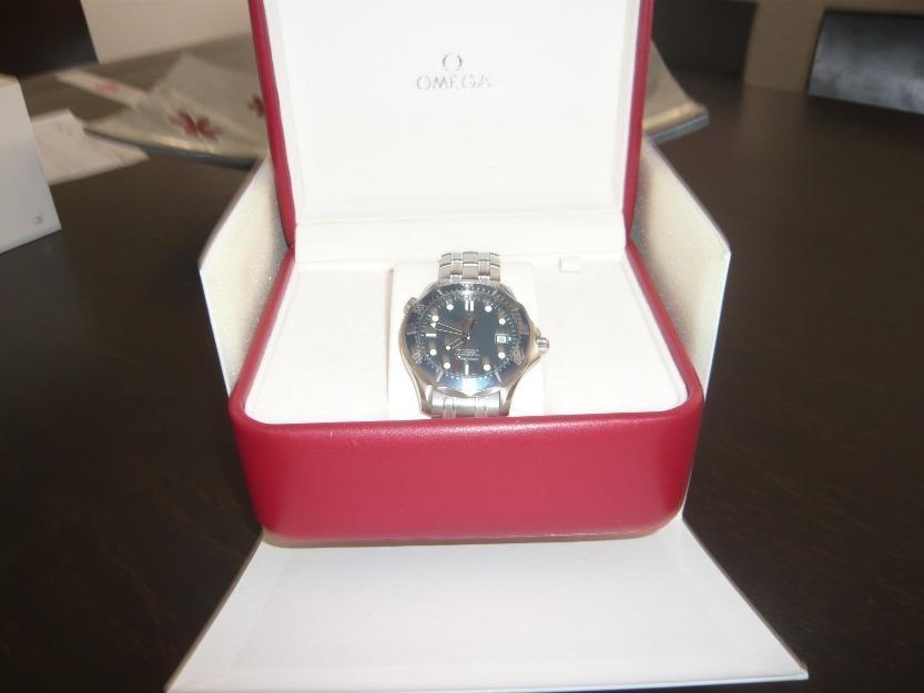 Reloj omega seamaster 007 (edicion limitada)- 100% original