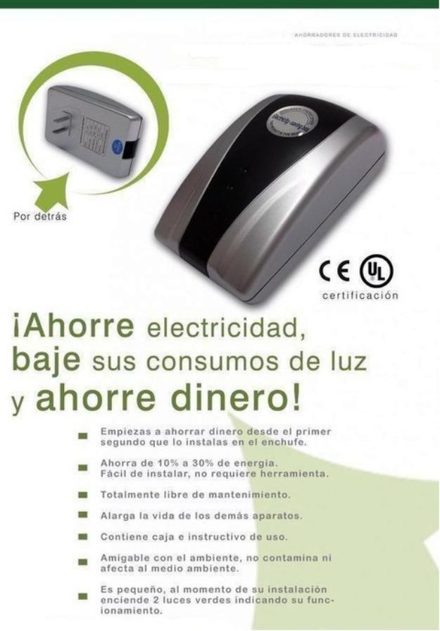 Ahorradores electricidad. hogar