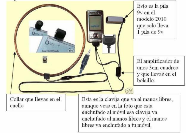 Audifono espia el mejor, examenes. Envio toda España Modelo Diferente 2010