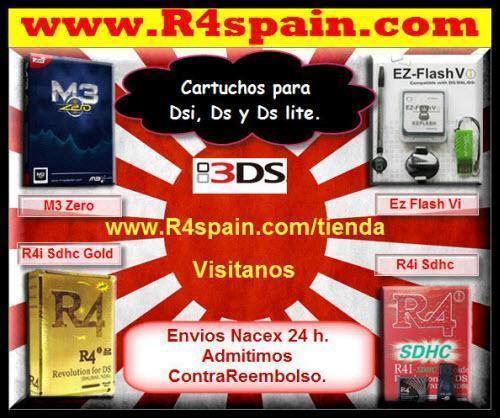 BARCELONA R4I GOLD 3DS  : COMPRAR Cartuchos NINTENDO 3DS , Dsi XL, Dsi
