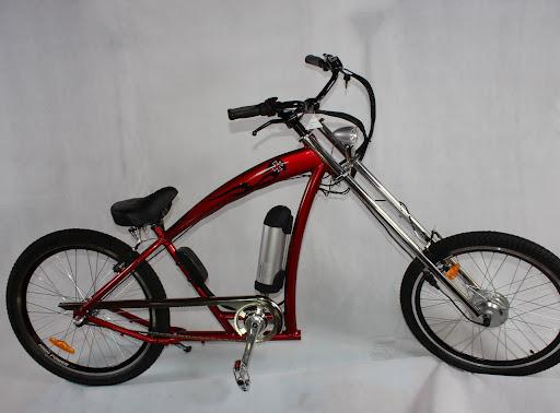Bicicleta electrica choper Red Baron