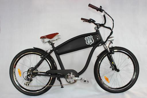 Bicicleta electrica choper vintage