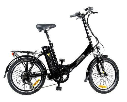 Bicicleta eléctrica tucano basic renan plegable