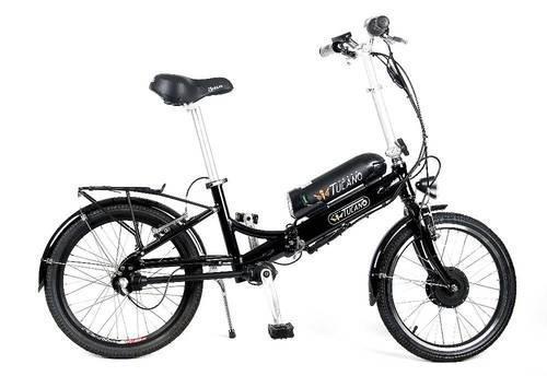 Bicicleta eléctrica tucano eos-cardan plegable