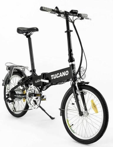 Bicicleta eléctrica tucano hide bike plegable