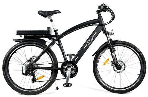 Bicicleta eléctrica tucano uomo sport mtb