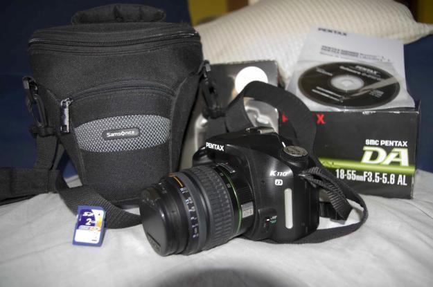 Camara Reflex Digital PENTAX K110