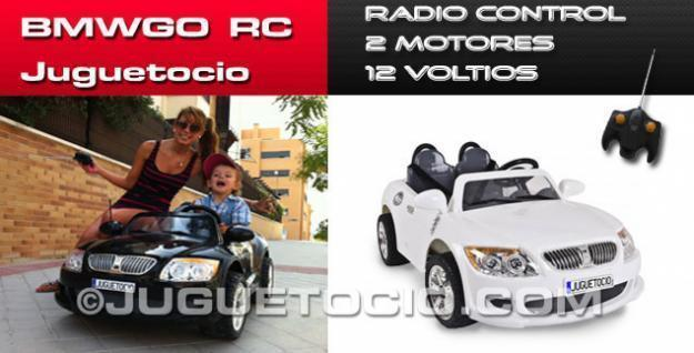 Coches electricos para niños RC Juguetocio