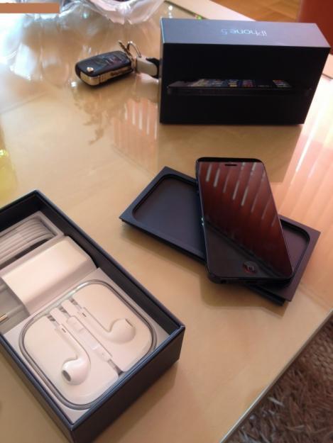 Iphone 5 64GB negro nuevo a estranar libre