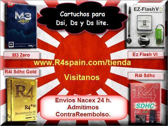R4I :COMPRAR Cartuchos para NINTENDO DSI , DSI XL