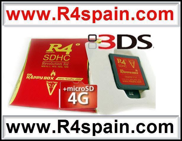 TARJETAS R4 o CARTUCHOS para tu NINTENDO 3DS, DSI XL, DSI : COMPRAR
