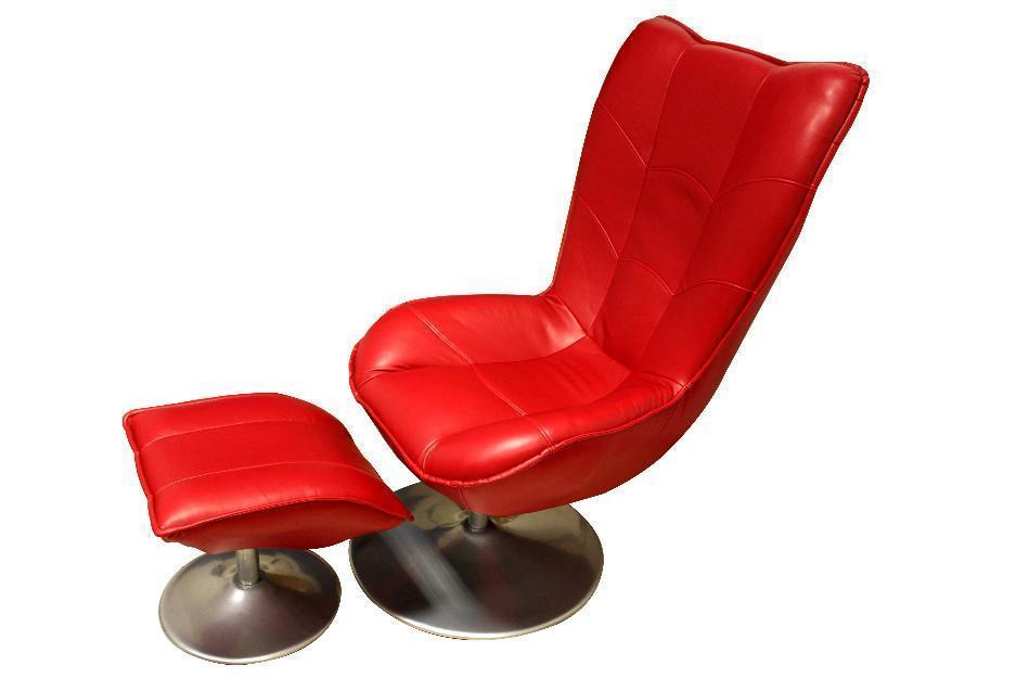 Sillón de masaje Milán rojo