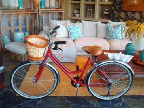 Bicicleta Vintage Retro Cherry Love Cruiser