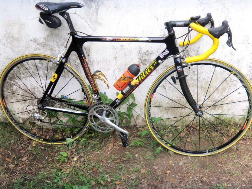 Bicicleta Ruta Marca Willer Triestina Pro Race Full