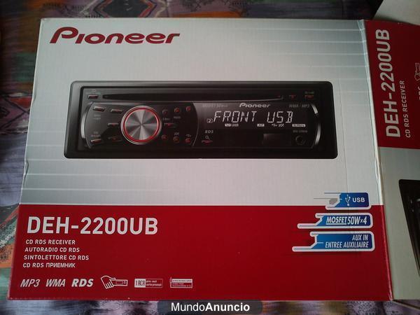 VENDO RADIO PIONEER 2200. CON USB