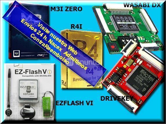 Cartuchos DSI XL,DSI R4I para NIntendo DSi XL DS y Ds lite.