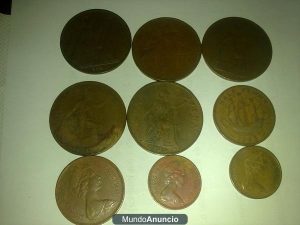 vendo moneda antiguas y cellos antiguos de colecion en muy buen estado.