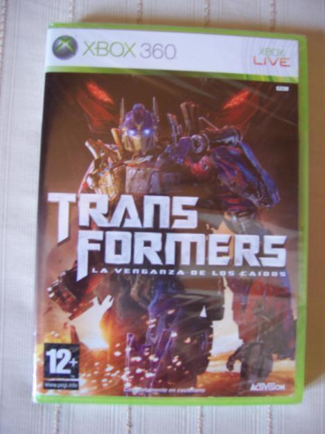XBOX 360 - Transformers - La venganza de los caidos (Nuevo y precintado)
