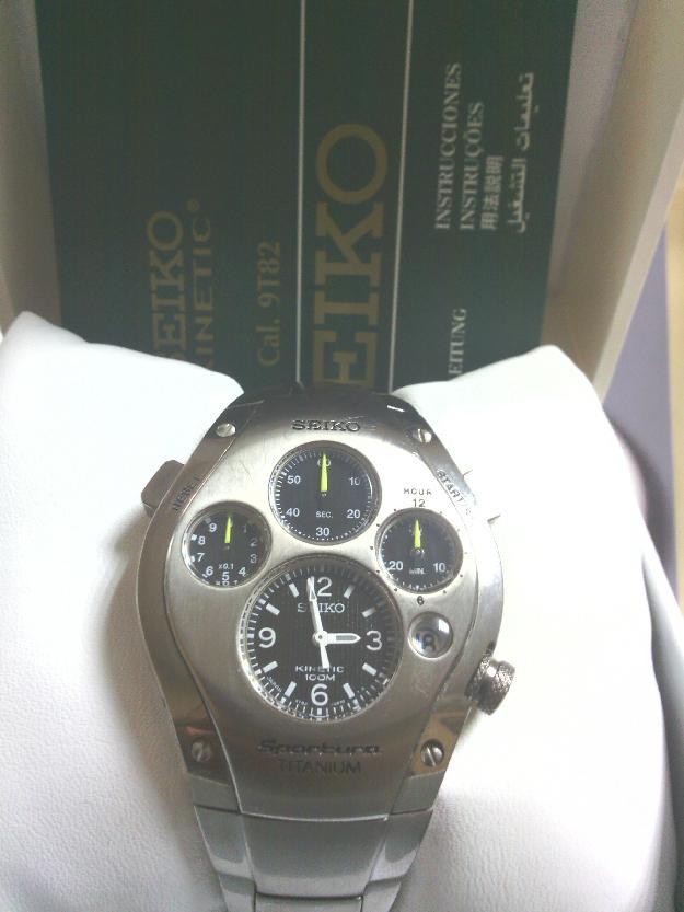 Reloj Seiko Sportura Titanium