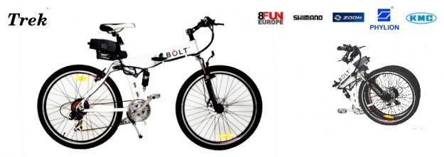 Bicicleta eléctrica Bolt Trek
