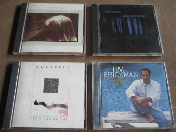 Coleccion de cds new age variados