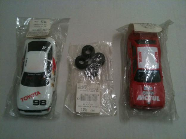 Scalextric exin lote de 15 blister sin abrir