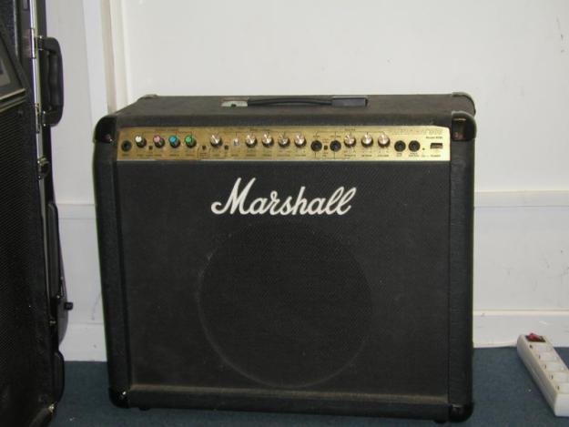 Amplificador Marshall 80w. Previo a válvulas.