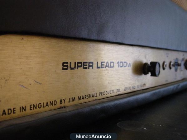 Amplificador Marshall JMP 100W Año 1967