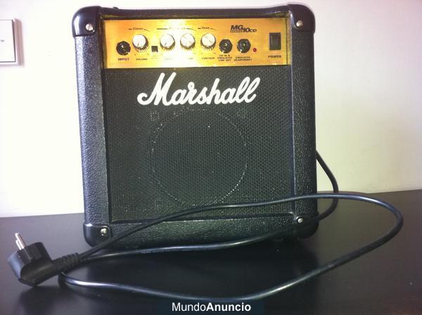 Amplificador Marshall MG10Cd
