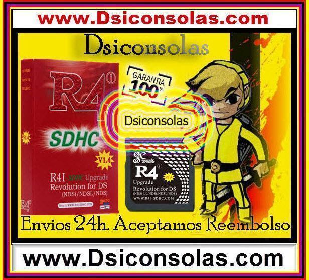 CARTUCHOS para NINTENDO 3DS, DSI XL, DSI (R4I 3DS, M3i Zero 3DS, Ezflash 3DS)