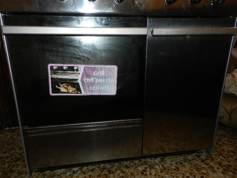 cocina con horno a gas