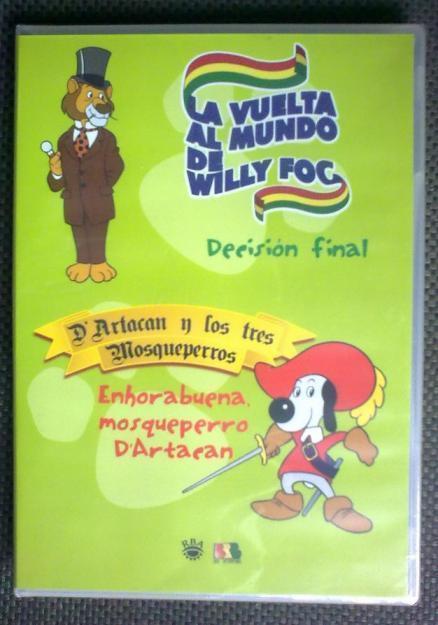 Dibujos de Willy Fog y D'Artacan