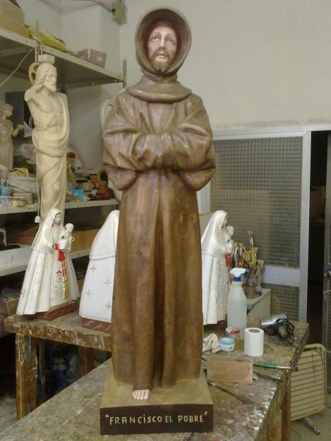 Imagenes religiosas en madera