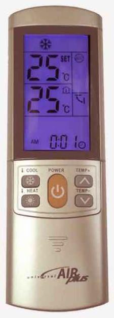Mando a distancia AIRPLUS  para aire acondicionado de cualquier marca a 18,50 €