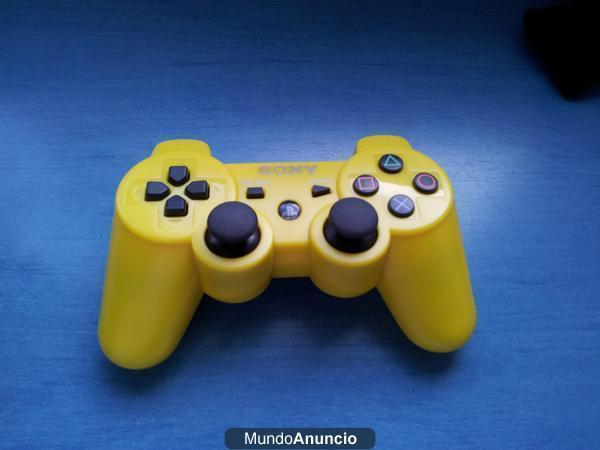 Mando dualshock 3 original PS3 amarillo