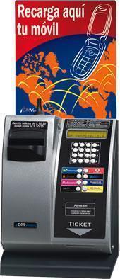 Maquina de recargas de telefonia muy barata!!