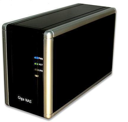 NAS Gigabit Dual Cliente BitTorrent 2TB