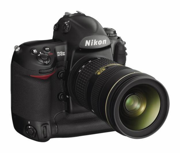 nikon d3x, cámara digital
