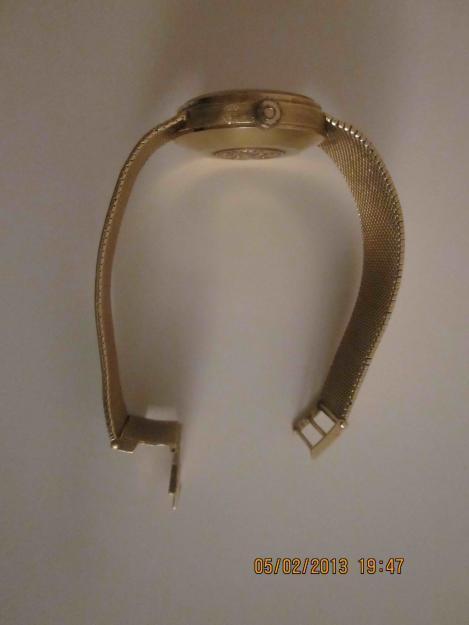 Omega geneve oro macizo años 70-80