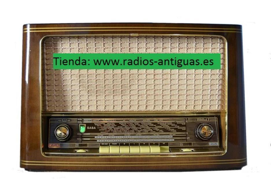 Radio antigua philips. tienda de radios antiguas. 12 meses garantia