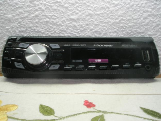 Radio coche  pioneer mp3 usb cd