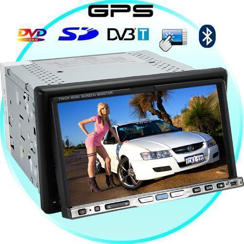 Road Master 7 pulgadas pantalla táctil Car DVD Player con GPS +