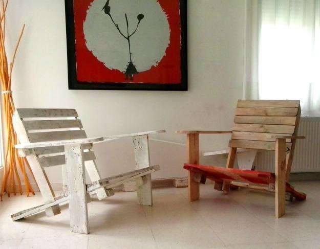 silla de jardin