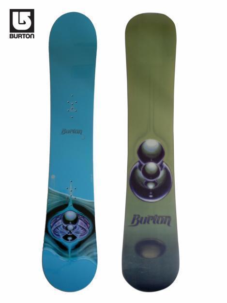 Tabla de snowboard burton custom superflu ii.  diseño único. no existe otra igual !!