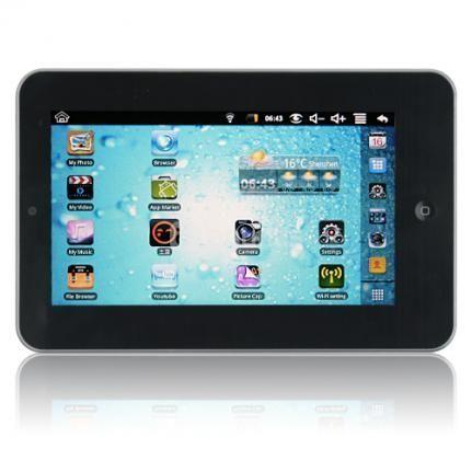 TABLET PC ANDROID 2.2 TACTIL 7