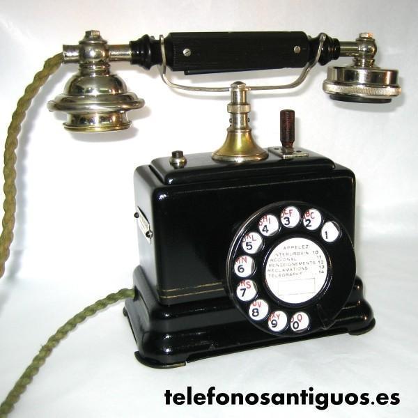 TELEFONO ANTIGUO ERICSSON - COLOMBES (FRANCIA)