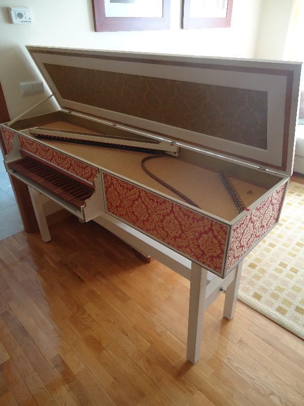 Venta virginal italiano (clavecín, clave, espineta, harpsichord, cembalo)