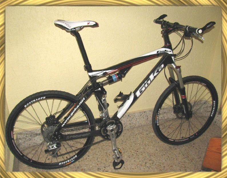 Bicicleta MTB Carbono Doble Suspensión Talla L