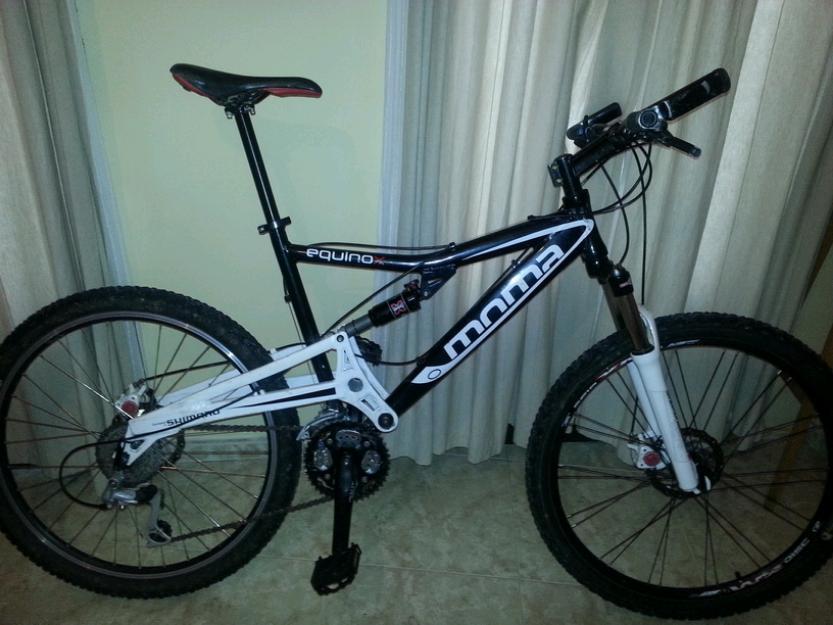 Bicicleta mtb/btt aluminio doble suspensión 26