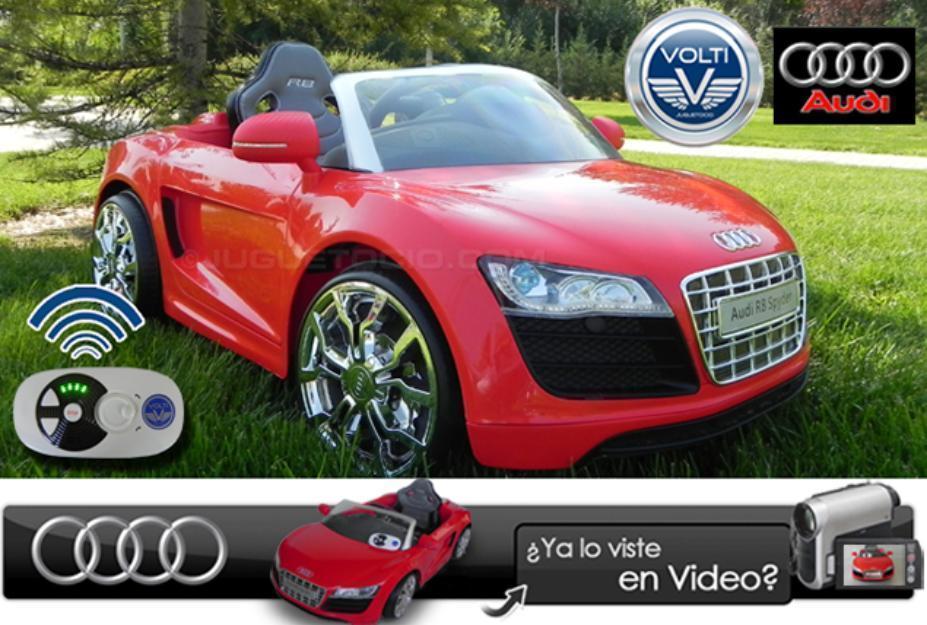 Coche Audi R8 con control paterno